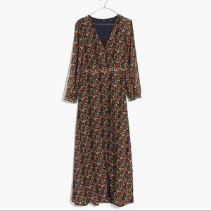 Madewell nightflower maxi dress in prairie blossom